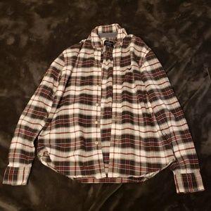 American Eagle Plaid Buttom Down Shirt